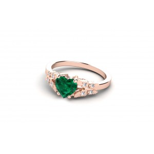 PAB-papillon-bague-or-rose-pierre-emeraude-ileodiamants-2